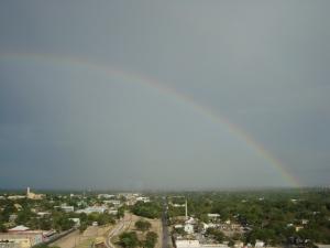 Rainbow Over Austin